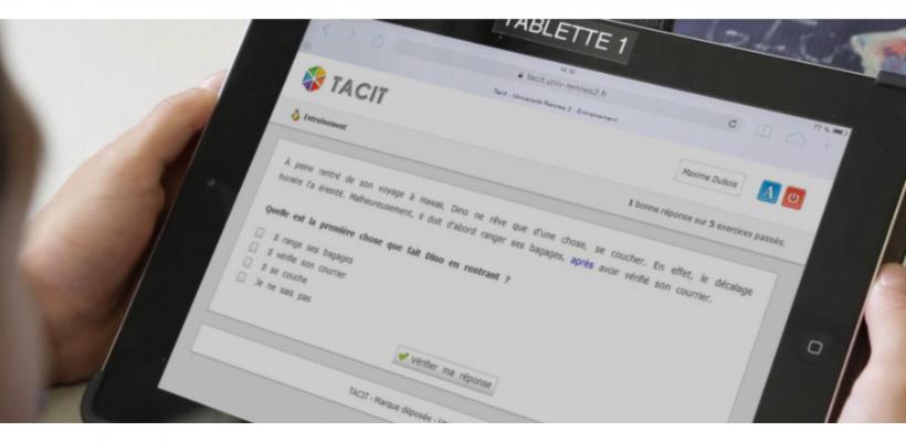 TACIT : apprendre à déduire l'implicite d'un texte et déduire le sens de mots inconnus