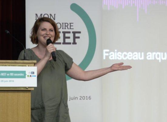 «Gagner a eu beaucoup de sens pour moi» : Entretien avec Aude Sappey-Marinier, 1er prix du concours MMM180 2016.