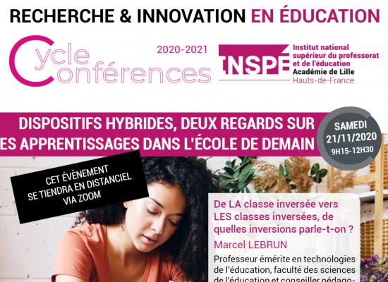 Dispositifs hybrides, deux regards sur les apprentissages dans l'école de demain