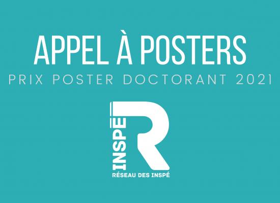 Prix Poster Doctorant – Printemps de la Recherche en Éducation 2021