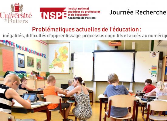 Webinaire «Problématiques actuelles de l'éducation»