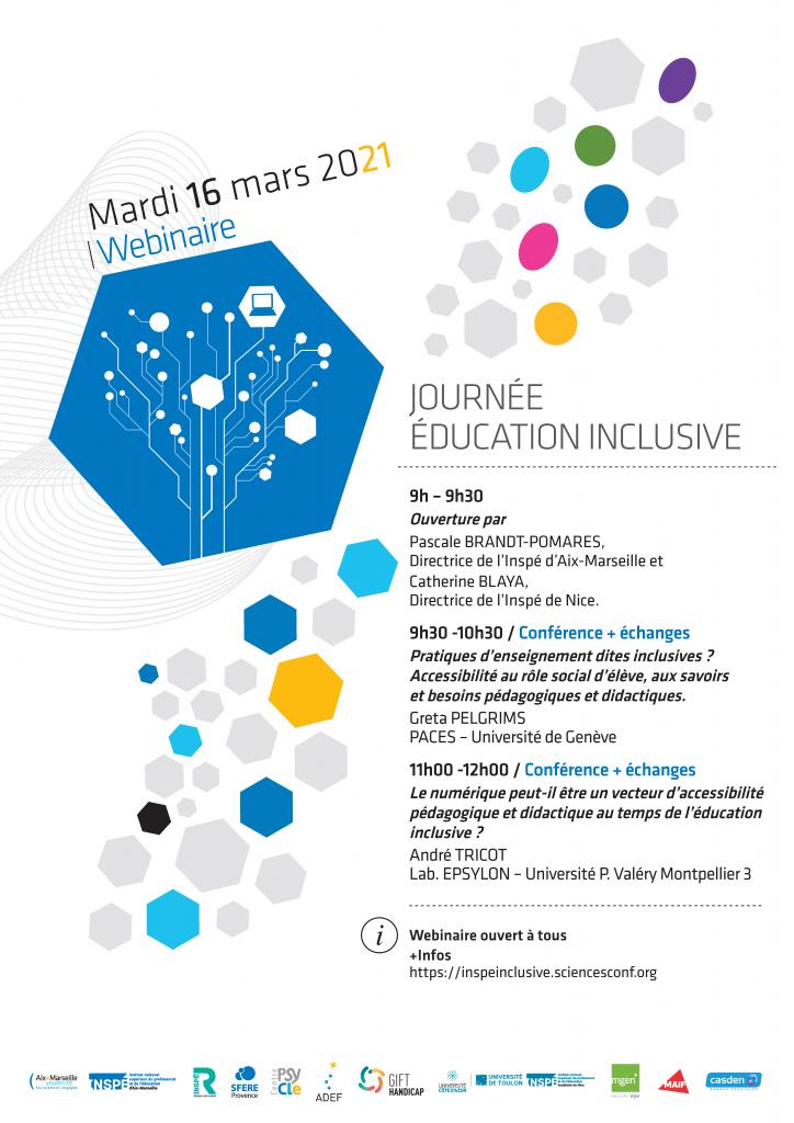 Journée éducation inclusive