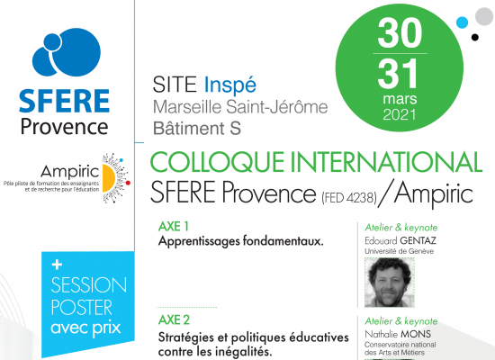 Colloque International SFERE Provence / Ampiric