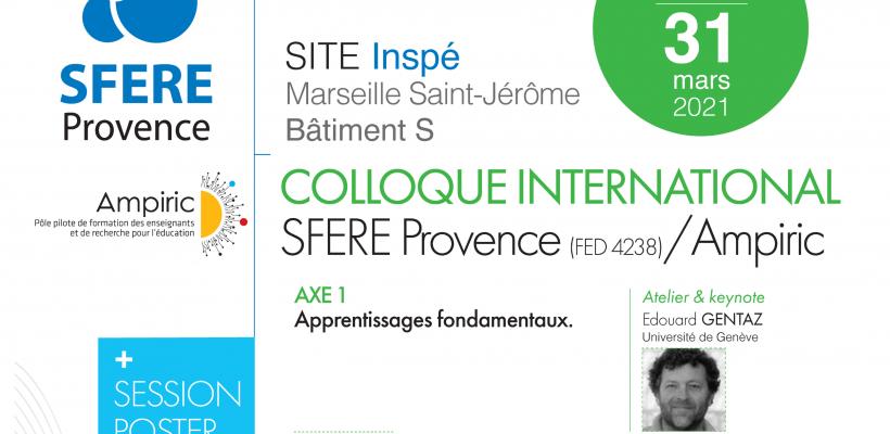 Colloque International SFERE Provence / Ampiric