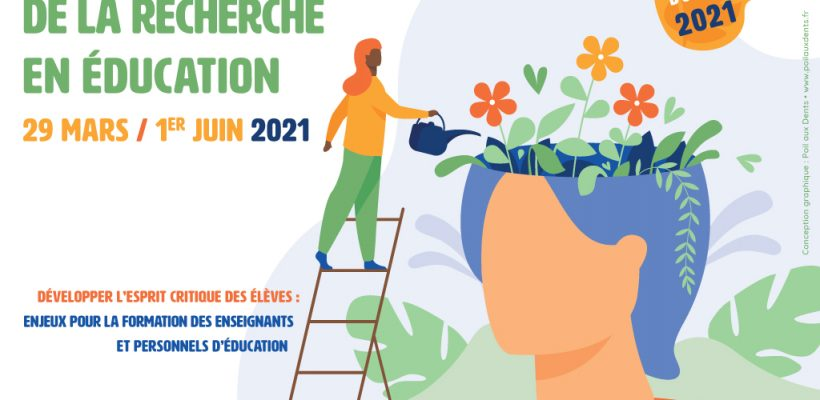 Visionnez les conférences du Printemps de la Recherche en Éducation 2021