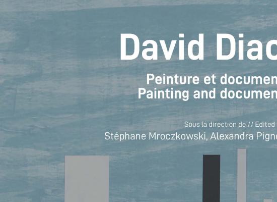 David Diao. Peinture et document.