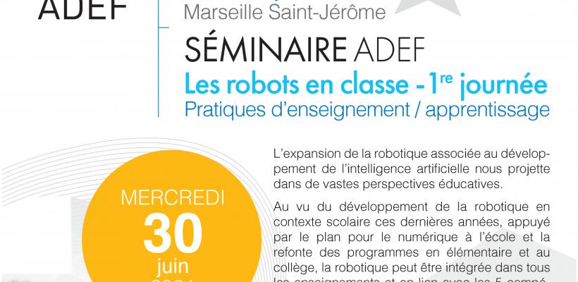 Les robots en classe – Pratiques d'enseignement / apprentissage