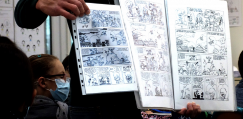 Enseignement et Bande dessinée : comment la BD change l'enseignement